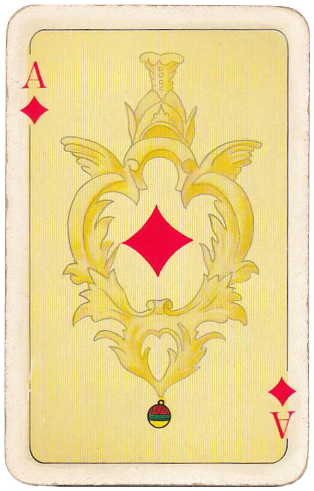 Freshly minted gold coins right into your pocket! - Ace of diamonds - #PlayingCardsTop1000