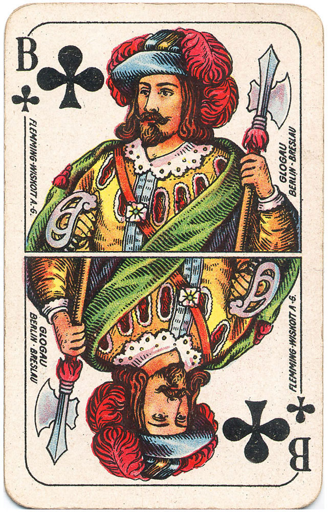 Those knechts from Prussia will take care of love and war - Jack of clubs - #PlayingCardsTop1000
