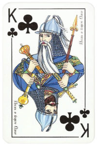 200 years Pushkin King of clubs