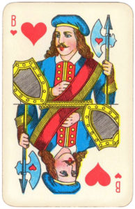Atlasnye Pervyj Nomer Soviet Union Playing Cards – Jack of hearts
