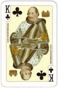 Deck for Romania by Piatnik – King of clubs