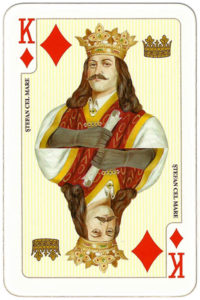 Deck for Romania by Piatnik – King of diamonds