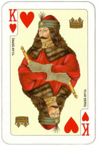 Deck for Romania by Piatnik – King of hearts