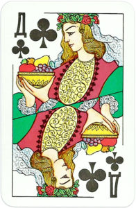 Four seasons vremena goda published ir Russia – Queen of clubs