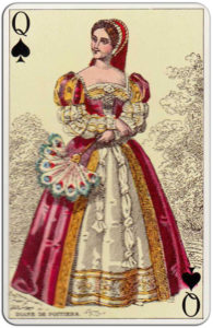 French Costumes 1850 reprint Gibert France Fournier – Queen of spades