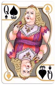 Gluttony by Johnny Whaam Queen of spades