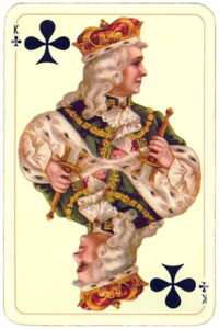 Golden age deck – King of clubs