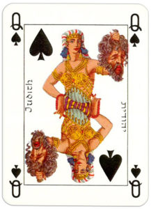 Jacobs Bible Cards Published by Lion Israel Judith – Queen of spades