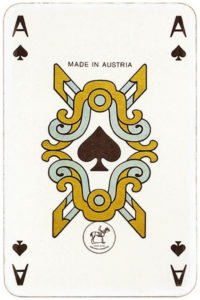 Japan themed deck by Piatnik – Ace of spades