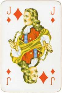 Mascotte Patience Carta Mundi Belgium – Jack of diamonds