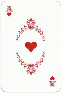 Paletty deck Russia – Ace of hearts