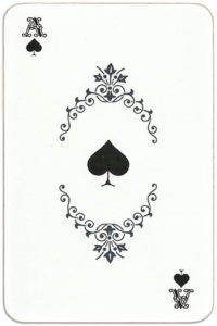 Paletty deck Russia – Ace of spades