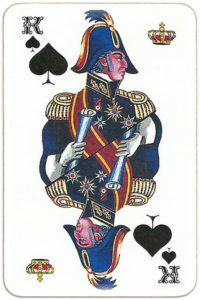 Paletty deck Russia – King of spades