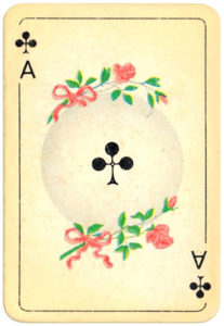 Patience Spiel VASS Germany Ace of clubs