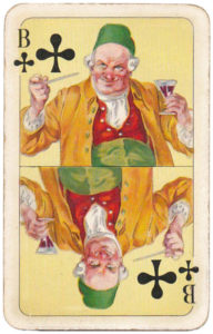 Sun King Playing cards – Jack of clubs