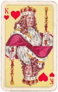 Sun King Playing cards Louis XV – King of hearts
