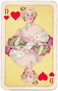 Sun King Playing cards Mistress Louis XIV – Queen of hearts