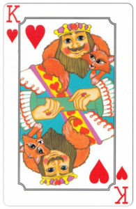 Susanne Riette Keith Big Deck by Fundex Games – King of hearts