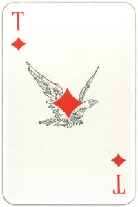 Suvenirnye karty deck from Russia – Ace of diamonds