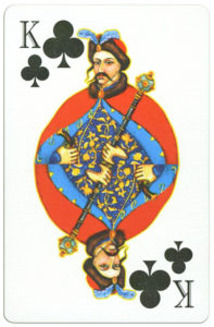 Ukrainian Playing Cards unknown publisher – King of clubs
