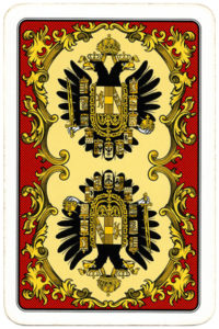 Back cards from Kaiser Jubileaum Spielkarten