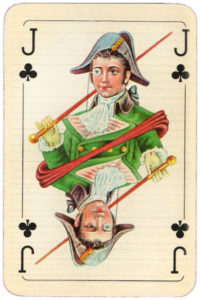 Baroque cards from Hungary – Jack of clubs