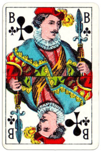 Cartes imperiales by Mesmaekers Freres made in Belgium – Jack of clubs