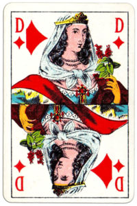 Cartes imperiales by Mesmaekers Freres made in Belgium – Queen of diamonds