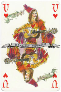 Jeu Feerique designed by Pierre Joubert – Jack of hearts