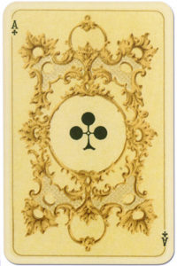 Kaizer William II Hohenzollern published by Lo Scarabeo – Ace of clubs