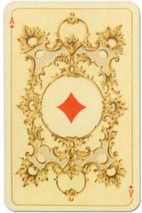 Kaizer William II Hohenzollern published by Lo Scarabeo – Ace of diamonds