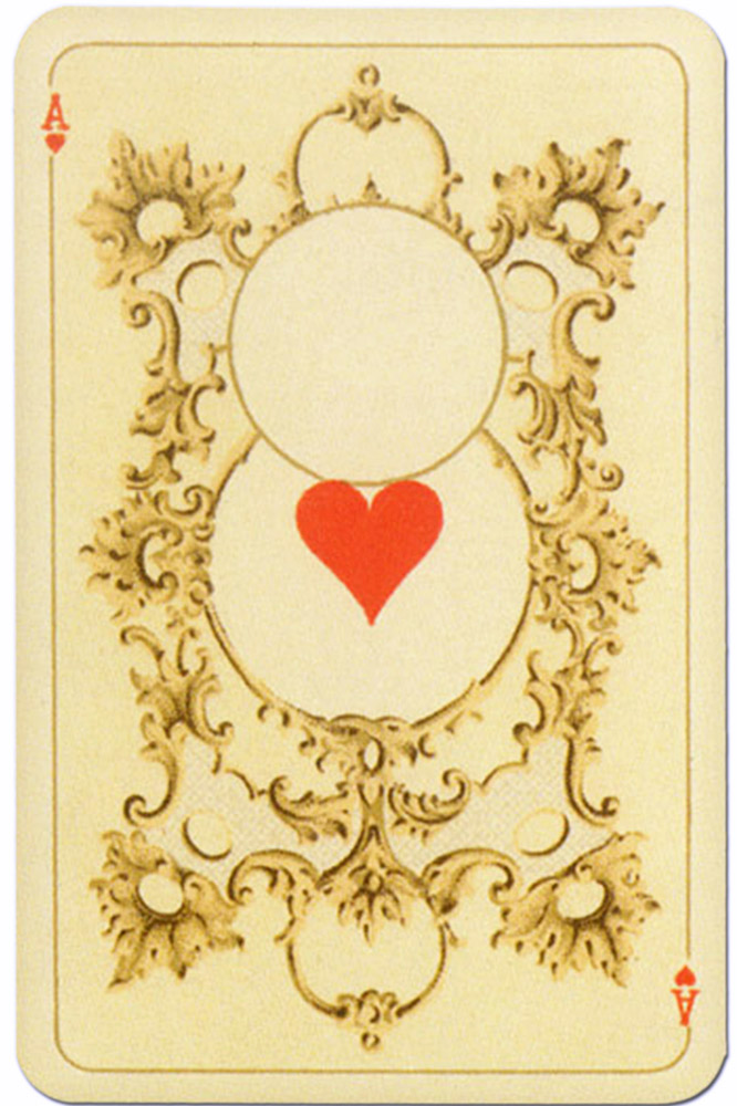 Kaizer William Ii Hohenzollern Published By Lo Scarabeo Ace Of Hearts Playing Cards Top 1000