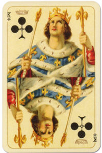Kaizer William II Hohenzollern published by Lo Scarabeo – King of clubs