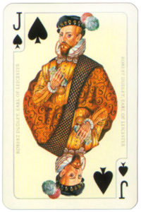 Mary – Queen of Scots by Piatnik – Jack of spades