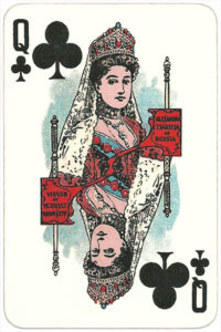 The Allied Armies of the First World War 1917 made in Russia Alexandra Tsaritsa of Russia – Queen of clubs