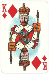 The Allied Armies of the First World War 1917 made in Russia His Majesty – King George – King of diamonds