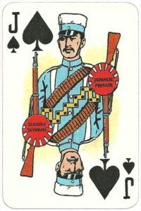 The Allied Armies of the First World War 1917 made in Russia Japanese private soldier – Jack of spades