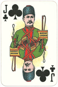 The Allied Armies of the First World War 1917 made in Russia Russian Cossack – Jack of clubs