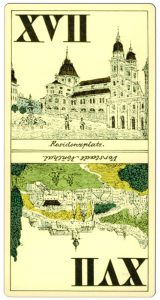 17 card XIX c tarock cards from Salzburg