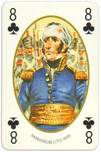 8 of clubs Face et Dos deck Empire by Carta Mundi