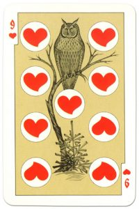 9 of hearts dark power Russian fairy tale cards