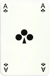 Ace of clubs DSM Staatsmijnen Wim Simons Designs