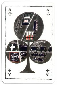 Ace of clubs voor alle Zekerheid Just in case playing cards