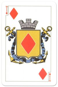 Ace of diamonds Russian Emperors