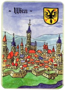 Ace of hearts Charta Bellica Hungarian cards