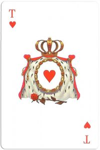 #PlayingCardsTop1000 – Ace of hearts Mafia playing cards
