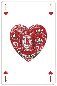 #PlayingCardsTop1000 – Ace of hearts Ocean Playing Cards