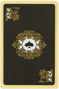 Ace of spades Chernyi Paleh Russian style black cards