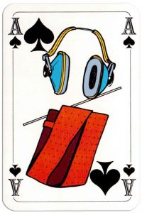 #PlayingCardsTop1000 – Ace of spades Deck Bouw Veilig for Dutch building company