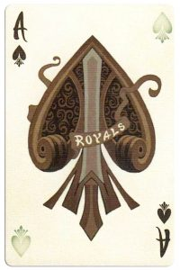 Ace of spades Heir deck by Johnny Whaam bycycle